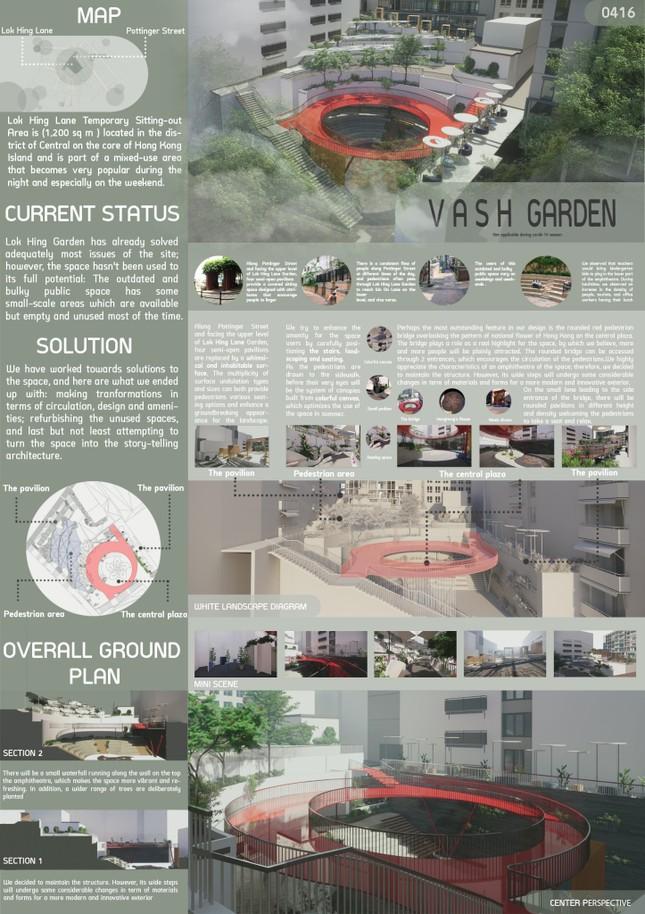 Sinh viên Đà Nẵng giành Á quân Cuộc thi kiến trúc Quốc tế ảnh 2