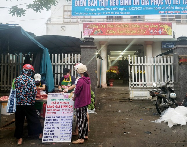 Đà Nẵng mở 16 điểm bán thịt heo bình ổn giá phục vụ dịp Tết ảnh 1