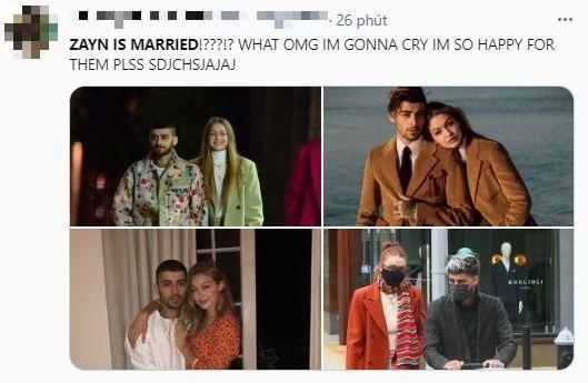 """Zayn Malik bất ngờ trở thành """"chồng người ta"""" khiến Twitter náo loạn ảnh 4"""