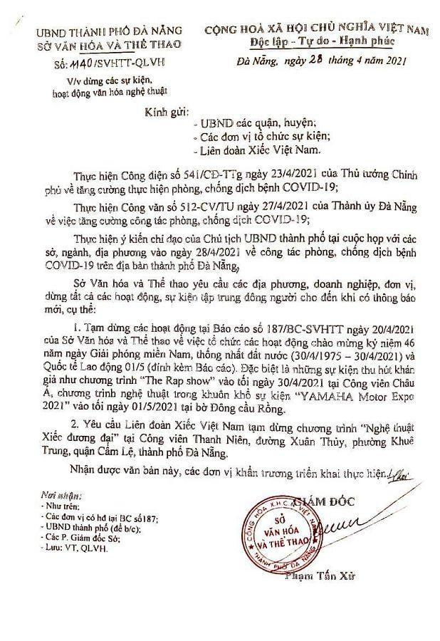Đà Nẵng: Fan lỡ hẹn với Wowy, Dế Choắt, Tlinh... đường phố ngày lễ vắng hơn ngày thường ảnh 9