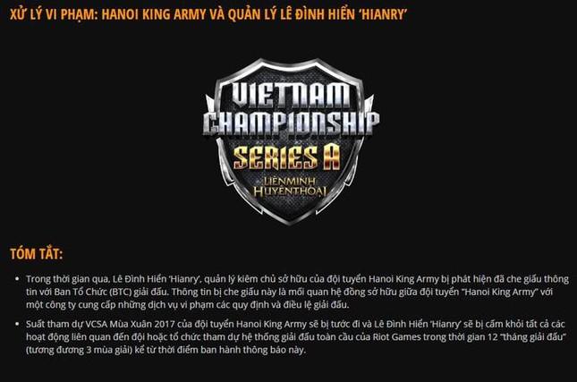 Trước vụ Zeros bị cấm thi đấu, đây là 5 bản án gây chấn động nhất lịch sử LMHT Việt Nam ảnh 4