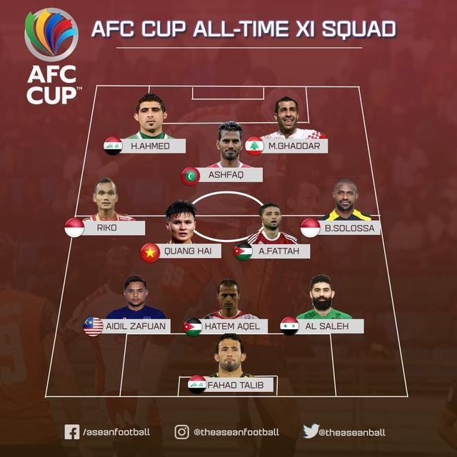 Cầu thủ Quang Hải bất ngờ được vinh danh ở đội hình xuất sắc nhất lịch sử giải châu Á ảnh 2