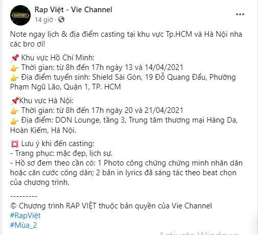 """Đen Vâu tuyên bố không làm huấn luyện viên """"Rap Việt"""" mùa 2, lý do khiến fan bất ngờ ảnh 6"""