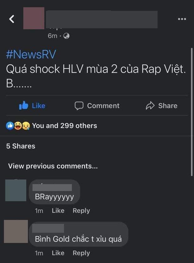"""Xôn xao danh tính rapper B """"bí ẩn"""" sẽ làm HLV Rap Việt: Là Bình Gold, B Ray hay Big Daddy? ảnh 1"""