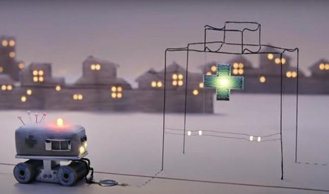 Clip quảng cáo chạm đến trái tim khi thắp sáng cả một thị trấn nhờ những sợi chỉ ảnh 2