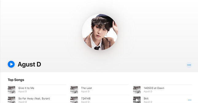 """Big Hit chưa """"thả thính"""" xong nhưng Apple Music đã lỡ spoil Suga (BTS) sắp tung mixtape ảnh 9"""