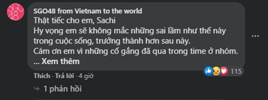 """SỐC: Sachi phải rời khỏi nhóm nhạc SGO48 vì """"có mối quan hệ hẹn hò bí mật""""? ảnh 7"""