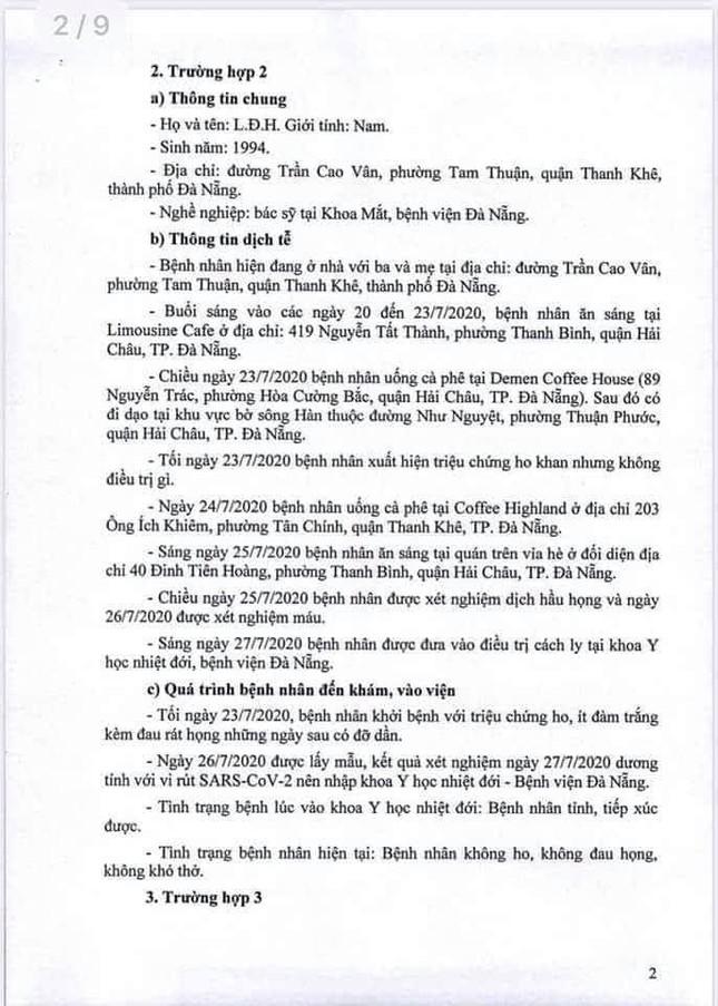 Truy dấu chân 11 bệnh nhân COVID-19 mới, lộ trình phủ khắp Đà Nẵng  ảnh 2