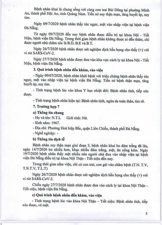 Truy dấu chân 11 bệnh nhân COVID-19 mới, lộ trình phủ khắp Đà Nẵng  ảnh 5