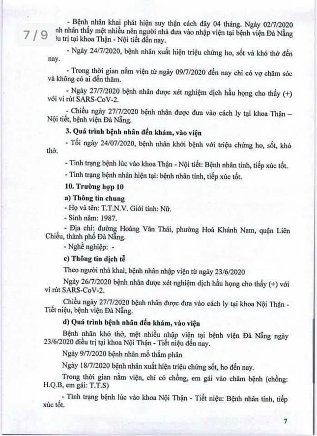 Truy dấu chân 11 bệnh nhân COVID-19 mới, lộ trình phủ khắp Đà Nẵng  ảnh 7