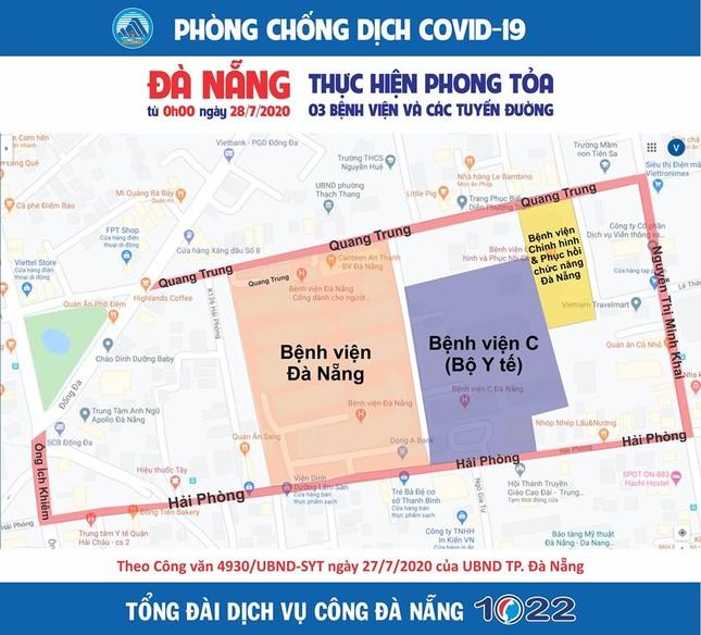 Truy dấu chân 11 bệnh nhân COVID-19 mới, lộ trình phủ khắp Đà Nẵng  ảnh 10