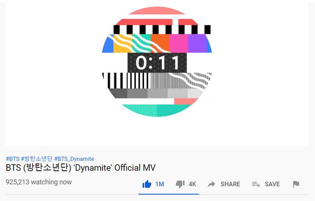 """MV """"Dynamite"""" giúp BTS bỏ túi nhiều thành tích, phá luôn kỷ lục trong thời gian… đếm ngược ảnh 1"""