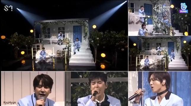 "SUPER JUNIOR - K.R.Y. cám ơn fan bằng tiếng Việt tại concert online ""Beyond LIVE""  ảnh 6"