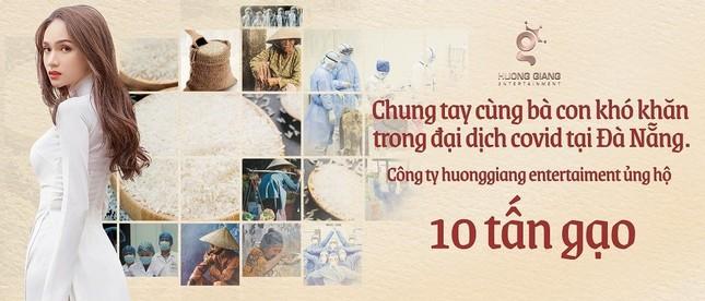 Hoa hậu Hương Giang ủng hộ 10 tấn gạo cho Đà Nẵng chống dịch COVID-19 ảnh 2