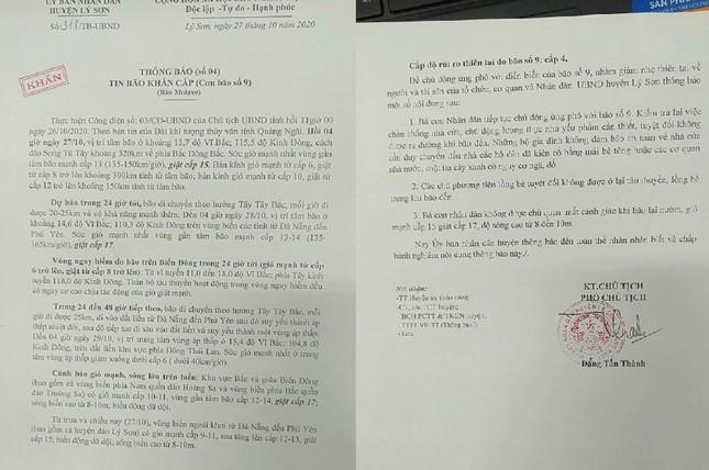 Sau 11 năm, người dân Lý Sơn (Quảng Ngãi) lại vất vả chống cơn bão lịch sử ảnh 1