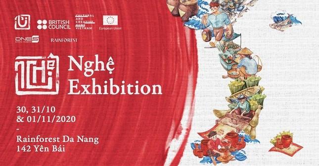 """Các làng nghề truyền thống bỗng thu bé lại tại triển lãm """"Đà Nẵng tui - Nghệ Exhibition"""" ảnh 5"""