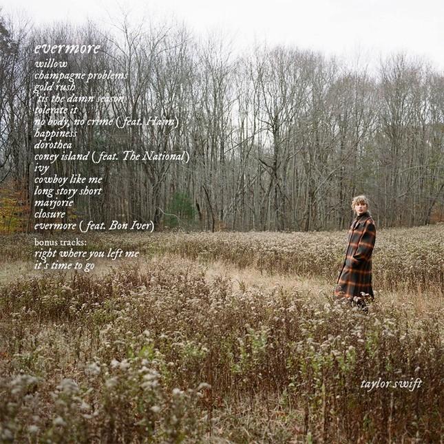 """Trước khi """"evermore"""" ra mắt, """"folklore"""" đã 5 lần được vinh danh Album hay nhất năm 2020 ảnh 3"""