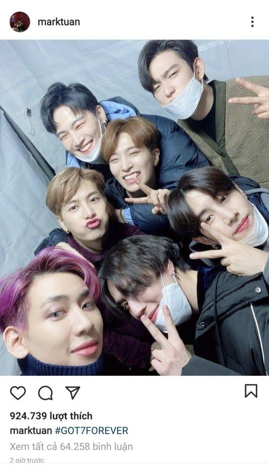 """Dính """"lời nguyền 7 năm"""", chính thức rời JYP, tương lai GOT7 sẽ đi đâu về đâu?  ảnh 3"""
