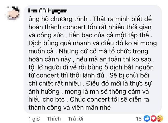 """Ngay trước đêm diễn, """"Rap Việt: All-Star Live Concert 2021"""" thông báo tạm hoãn vì dịch ảnh 4"""
