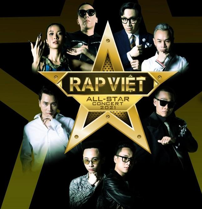 """Ngay trước đêm diễn, """"Rap Việt: All-Star Live Concert 2021"""" thông báo tạm hoãn vì dịch ảnh 1"""