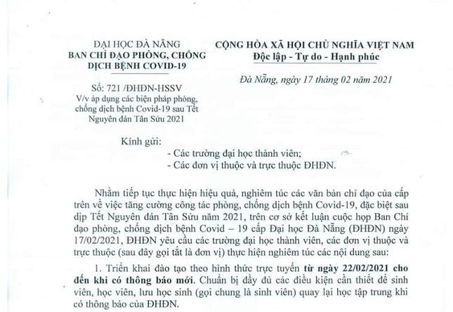 Đà Nẵng: Sinh viên học online, teen chưa thể gặp các giáo sinh thực tập dù đã trở lại trường ảnh 4