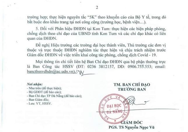 Đà Nẵng: Sinh viên học online, teen chưa thể gặp các giáo sinh thực tập dù đã trở lại trường ảnh 5
