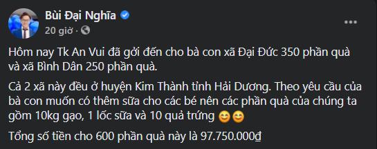 """""""Phiên chợ 0 đồng"""" và những chuyến xe giải cứu nông sản Hải Dương của nghệ sĩ Việt ảnh 5"""