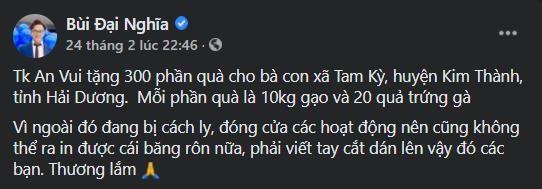 """""""Phiên chợ 0 đồng"""" và những chuyến xe giải cứu nông sản Hải Dương của nghệ sĩ Việt ảnh 9"""