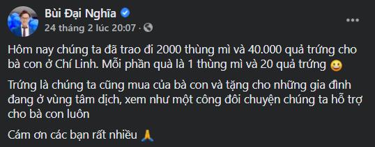 """""""Phiên chợ 0 đồng"""" và những chuyến xe giải cứu nông sản Hải Dương của nghệ sĩ Việt ảnh 7"""