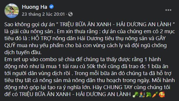"""""""Phiên chợ 0 đồng"""" và những chuyến xe giải cứu nông sản Hải Dương của nghệ sĩ Việt ảnh 14"""