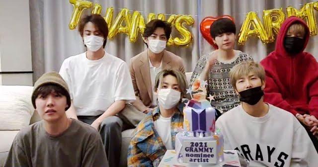 """ARMY hô vang """"We Purple You!"""", BTS hồi đáp """"We Love You!"""" hậu Grammys 2021 ảnh 10"""