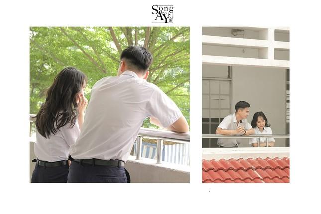 TP.HCM: Ngất ngây với bộ ảnh chủ đề thanh xuân vườn trường của teen THPT Nguyễn Hữu Cầu ảnh 6