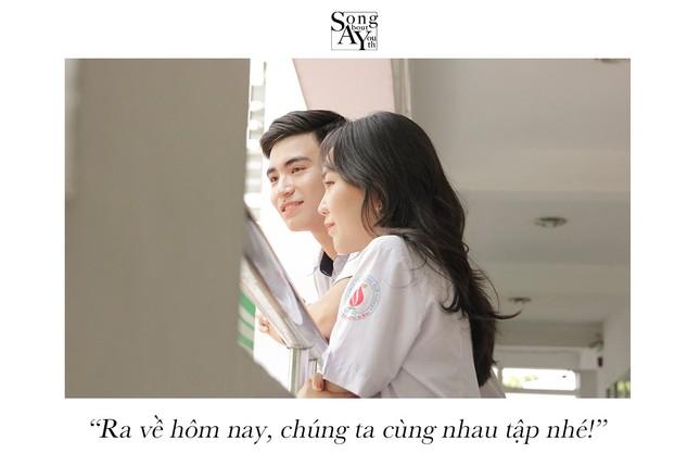 TP.HCM: Ngất ngây với bộ ảnh chủ đề thanh xuân vườn trường của teen THPT Nguyễn Hữu Cầu ảnh 7