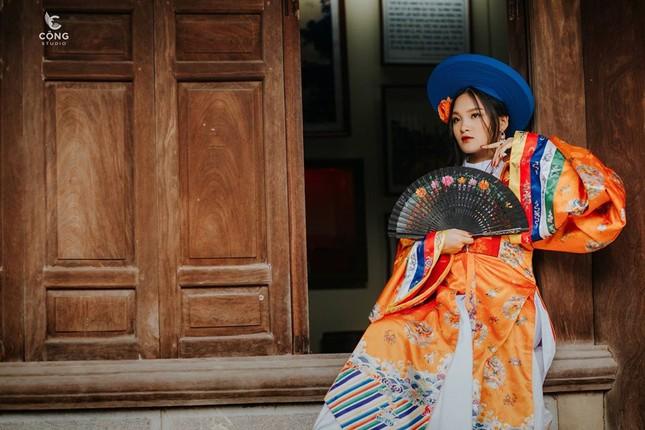 Trầm trồ trước vẻ đẹp của cổ phục Việt Nam trong bộ ảnh kỷ yếu của teen 12 Nam Định ảnh 9