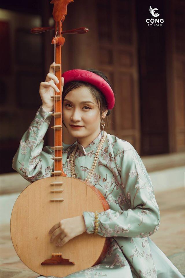 Trầm trồ trước vẻ đẹp của cổ phục Việt Nam trong bộ ảnh kỷ yếu của teen 12 Nam Định ảnh 5