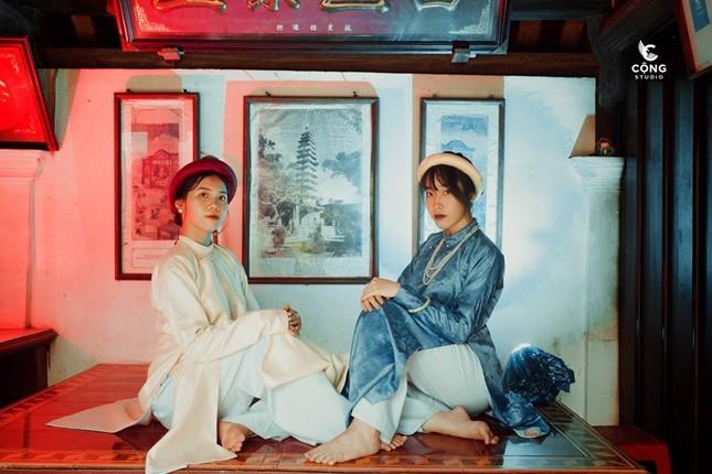 Trầm trồ trước vẻ đẹp của cổ phục Việt Nam trong bộ ảnh kỷ yếu của teen 12 Nam Định ảnh 7