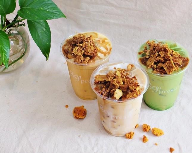 """TP.HCM: Thưởng thức ly dalgona latte """"xịn"""" và chuẩn vị từ khu phố Myeongdong ở Hàn Quốc ảnh 6"""