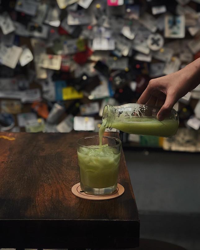 """TP.HCM: Thưởng thức ly dalgona latte """"xịn"""" và chuẩn vị từ khu phố Myeongdong ở Hàn Quốc ảnh 1"""