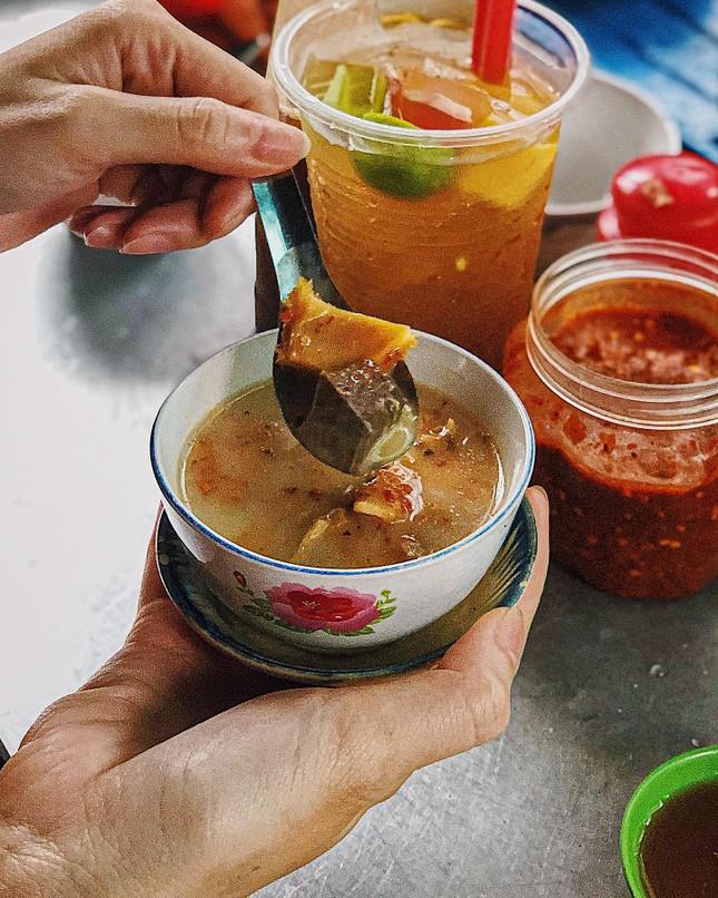 Phá lấu trắng duy nhất tại Sài Gòn và cơm tấm ngon thần sầu cho hội cú đêm ảnh 2
