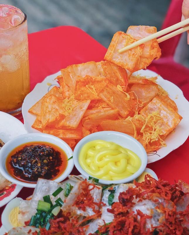 """Menu ăn vặt """"ba chấm là ngất ngây"""" của teen Sài Gòn: Bò bía 1,5K, súp """"gói cả thế giới"""" ảnh 8"""