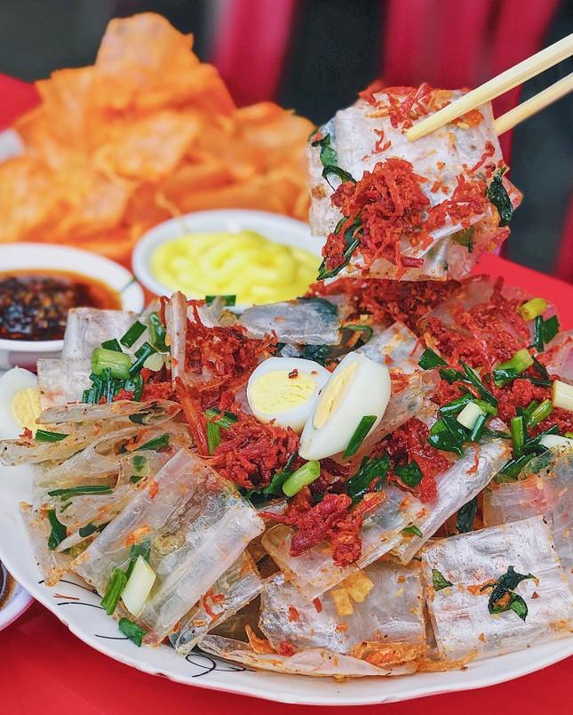 """Menu ăn vặt """"ba chấm là ngất ngây"""" của teen Sài Gòn: Bò bía 1,5K, súp """"gói cả thế giới"""" ảnh 9"""