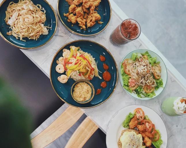 """Hẹn hò Sài Gòn: Thực đơn ngập phô mai thơm béo hay gạo lứt """"healthy""""?  ảnh 6"""