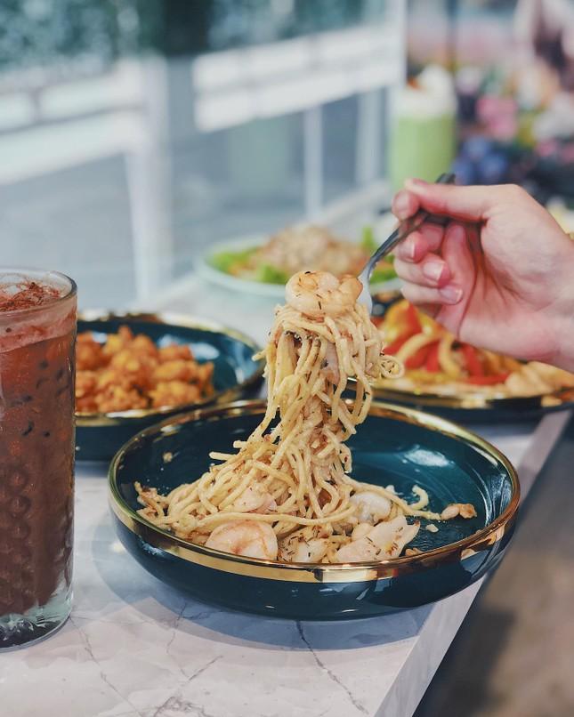 """Hẹn hò Sài Gòn: Thực đơn ngập phô mai thơm béo hay gạo lứt """"healthy""""?  ảnh 7"""