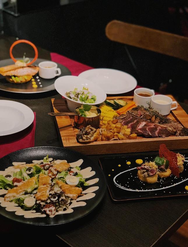 Buffet Hàn chuẩn vị và ẩm thực trời Âu ngon mê li với steak, pasta cùng không gian lãng mạ ảnh 5