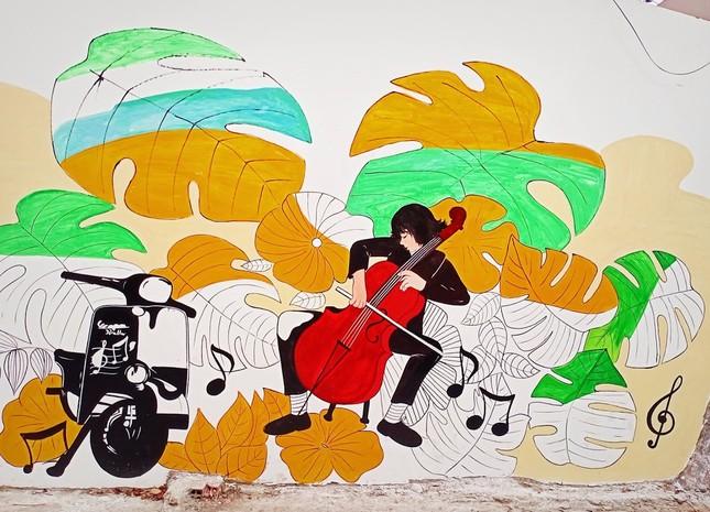 Vũng Tàu: Mời bạn chiêm ngưỡng đường tranh bích họa độc đáo ngay sát bờ biển ảnh 8