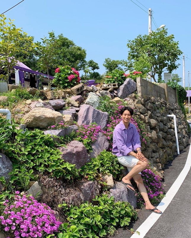 """Có gì hấp dẫn ở đảo Banwol - hòn đảo """"tím lịm tìm sim"""" ở phía Nam Hàn Quốc? ảnh 5"""
