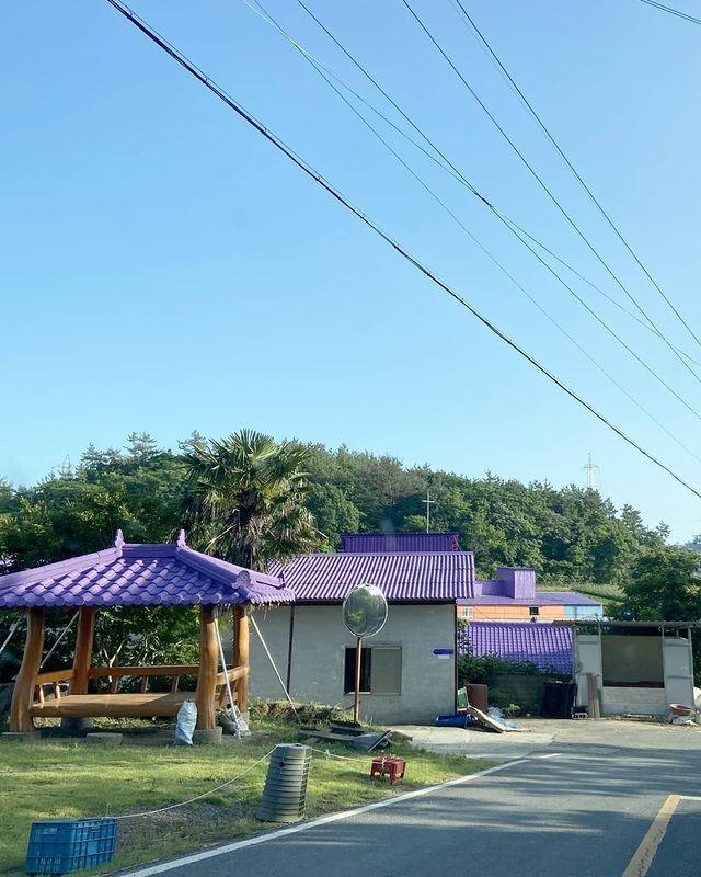 """Có gì hấp dẫn ở đảo Banwol - hòn đảo """"tím lịm tìm sim"""" ở phía Nam Hàn Quốc? ảnh 6"""