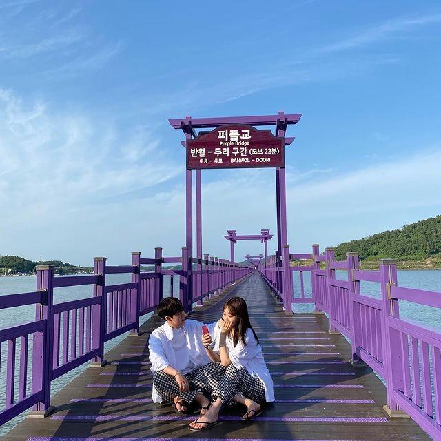 """Có gì hấp dẫn ở đảo Banwol - hòn đảo """"tím lịm tìm sim"""" ở phía Nam Hàn Quốc? ảnh 8"""