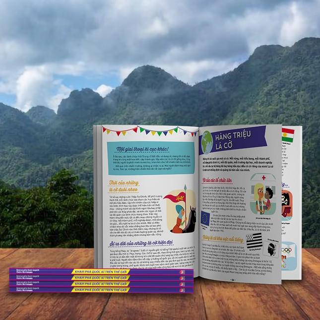 Sách hay nên đọc: Khám phá những câu chuyện kì thú xoay quanh 194 lá quốc kì ảnh 2