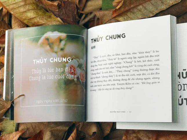 """Thêm yêu tiếng Việt qua từng trang sách """"Chữ xưa còn một chút này"""" ảnh 2"""